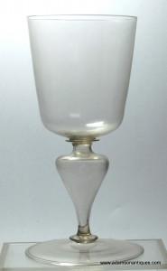 Large Facon de Venise Goblet C 1650/75