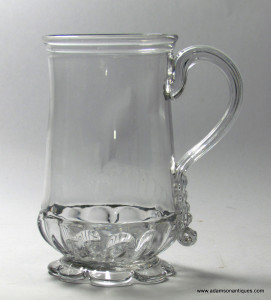 Georgian Tankard With Petal Foot C 1760/70