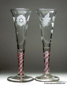 Jacobite Ale Glasses C1765