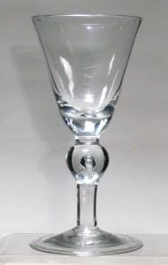 Heavy Baluster Wine Goblet C 1700/10