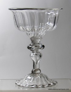 Baluster Sweetmeat/Champagne glass C1725/30