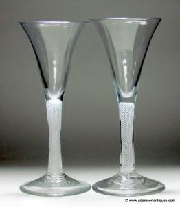Opaque Twist Wine Glasses C1765