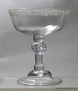 Balustroid Champagne Glass C 1740/50