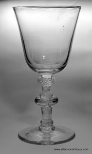 "Mammoth ""Light Baluster"" Goblet C 1745/50"