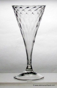 "French ""Verre de Fougere"" Wine Glass C1740/50"