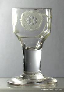 Jacobite Firing Glass C 1750