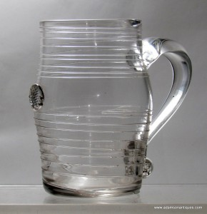Rare Trailed Tankard With Prunt C 1750/60
