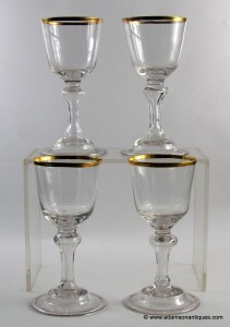 German Gilded Goblets C1770