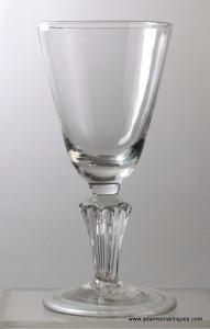 Pedestal Stem Wine Goblet C 1715/20