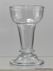 Rare Set of Six Syllabub Glasses C 1740/50