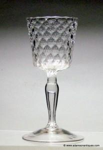 French Bucket Bowl Wine Glass C 1740/50