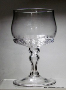 """Rare""Mead/White Wine Goblet C 1690/1700"