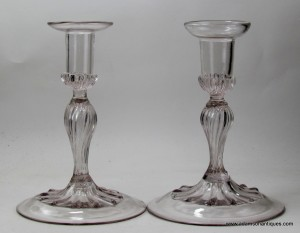 Rare Pair of French Candlesticks C 1720/30