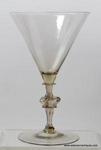 Large Facon de Venise Goblet C1660/70