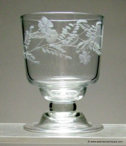 Georgian Water Glass/Goblet C 1740/50