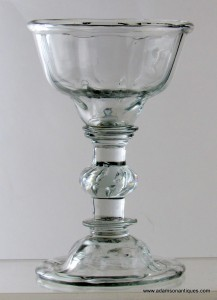 Georgian Sweetmeat Glass C1740/50