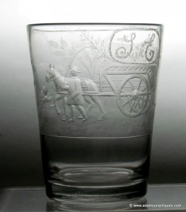 Georgian Farming Tumbler 1820/30