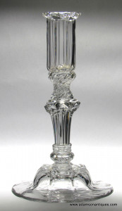 Pedestal Stem Candlestick C 1745/50