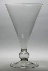 "A Rare ""Greene Pattern"" Goblet c1660/70"